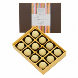 Champagne Truffles Medium Box